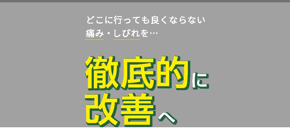 「なかばやし整体院」西武立川・武蔵砂川で口コミ実績No.1 メインイメージ